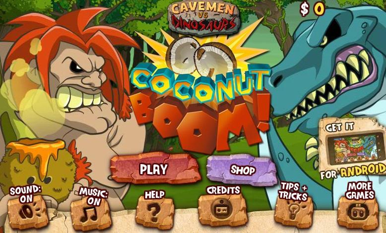 Caveman And Dinosaurs : Play cavemen vs dinosaurs on veve games
