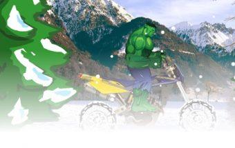 Hulk Snow Ride