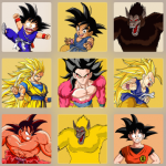 2048 Dragon Ball Z