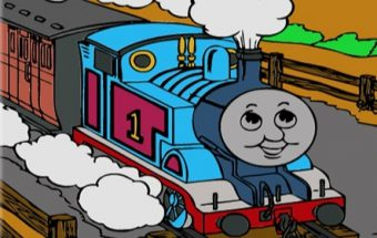 Thomas The Tank Online Coloring