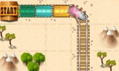 Train Maze Game